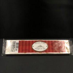 Barre de nougat tendre de 100 g | Ô douceurs de nos terroirs - Epicerie fine à Péronne