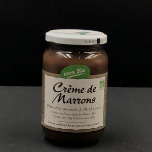 Crème de marrons BIO | Ô douceurs de nos terroirs - Epicerie fine à Péronne