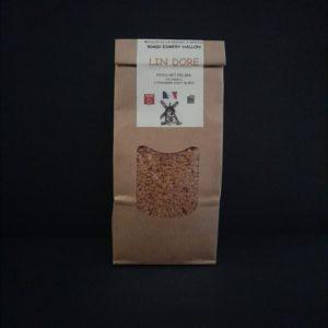 Paquet de graines de lin doré | Ô douceurs de nos terroirs - Epicerie fine à Péronne
