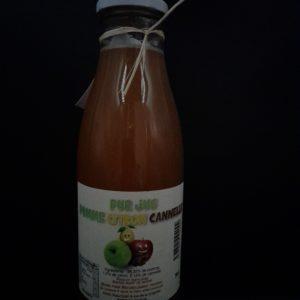 Jus pomme citron cannelle   Ô douceurs de nos terroirs - Epicerie fine à Péronne