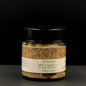 Moutarde à l'ancienne | Ô douceurs de nos terroirs - Epicerie fine à Péronne