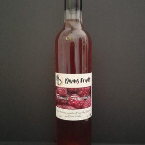 Bouteille de Divins fruits pomme framboise   Ô douceurs de nos terroirs - Epicerie fine à Péronne