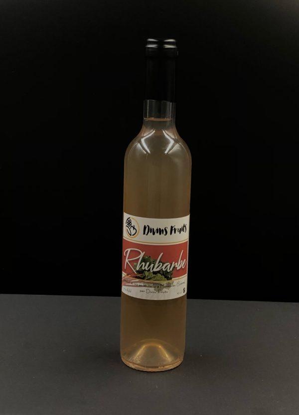 Divins fruits Rhubarbe 50cl | Ô douceurs de nos terroirs - Epicerie fine à Péronne