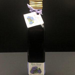 Bouteille de sirop de violette de 25 cL
