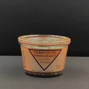 Terrine de foie de volaille 270 g | Ô douceurs de nos terroirs - Epicerie fine à Péronne