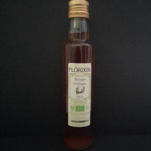 Bouteille de 25cl de vinaigre d'estragon bio | Ô douceurs de nos terroirs - Epicerie fine à Péronne