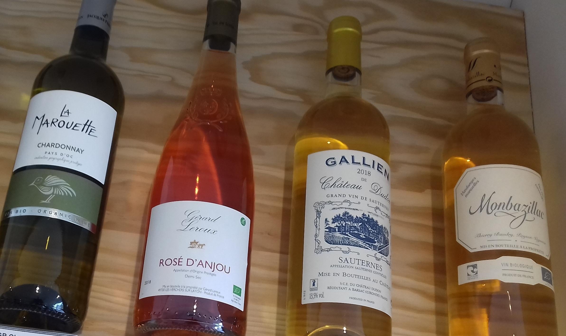 Les différents vins   Ô douceurs de nos terroirs - Epicerie fine à Péronne